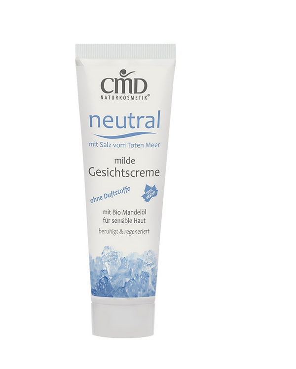 CMD Neutral facial cream with salt from the Dead Sea